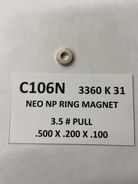 Picture of 3360K31 Plated Ring C106N