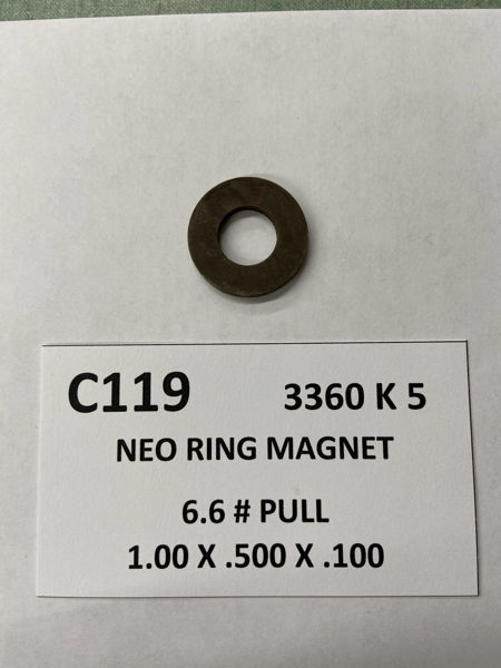 Picture of 3360K5 Unplated Ring C119