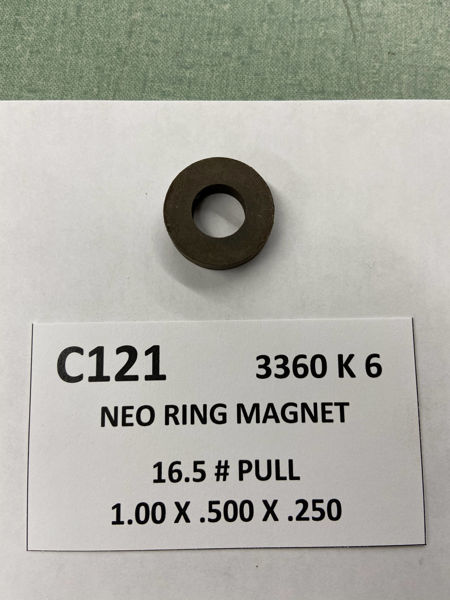 Picture of 3360K6 Unplated Ring C121