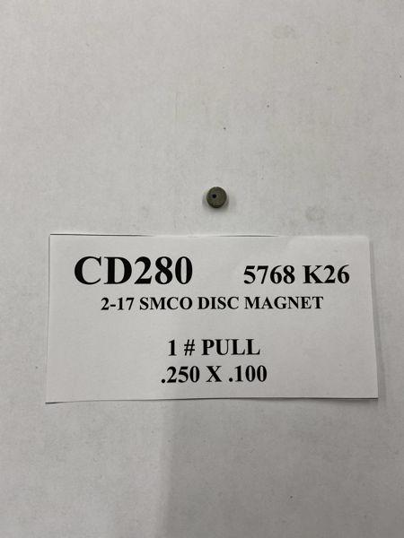Picture of 5768K26 Samarium Cobalt Disc CD280