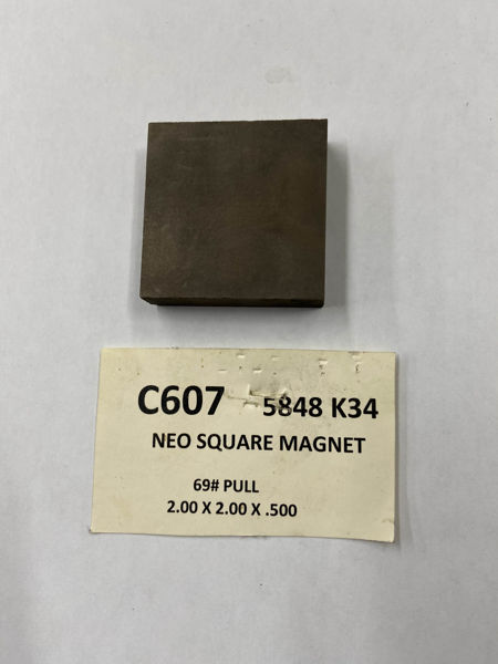 Picture of 5848K34 Unplated Block C607