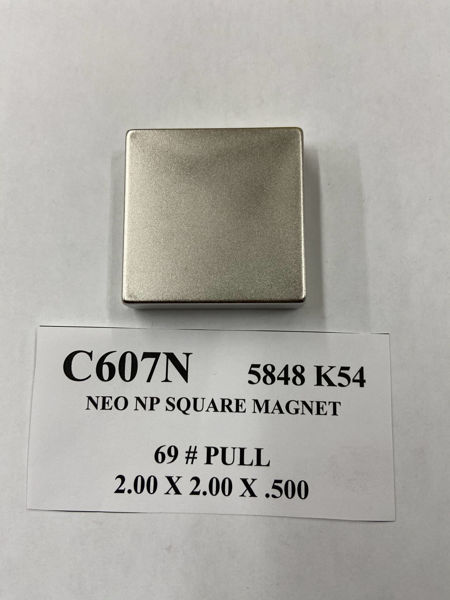 Picture of 5848K54 Nickel Plated Block C607N