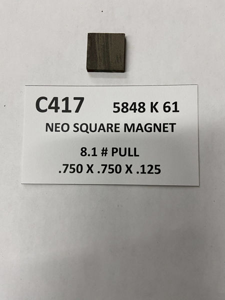 Picture of 5848K61 UnPlated Block C417