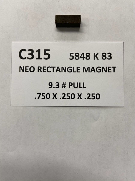 Picture of 5848K83 UnPlated Block C315