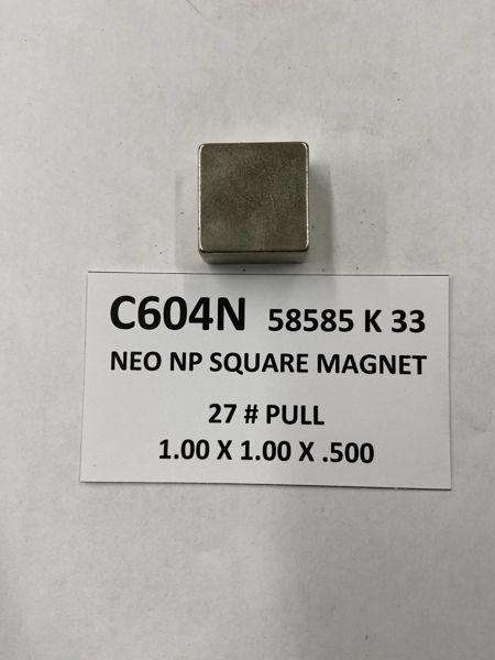 Picture of 58585K33 Nickel Plated Block C604N