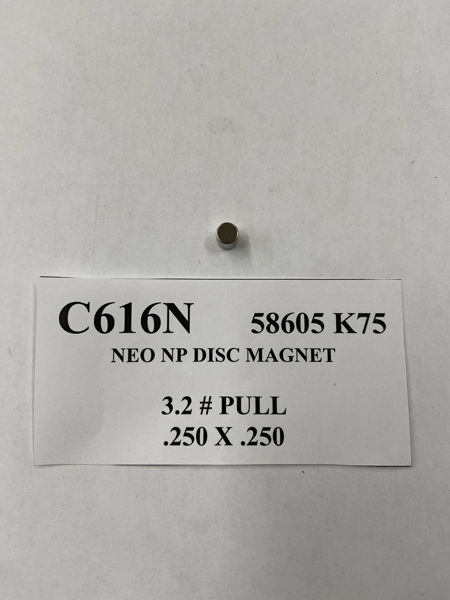 Picture of 58605K75 Nickel Plated Disc C616N
