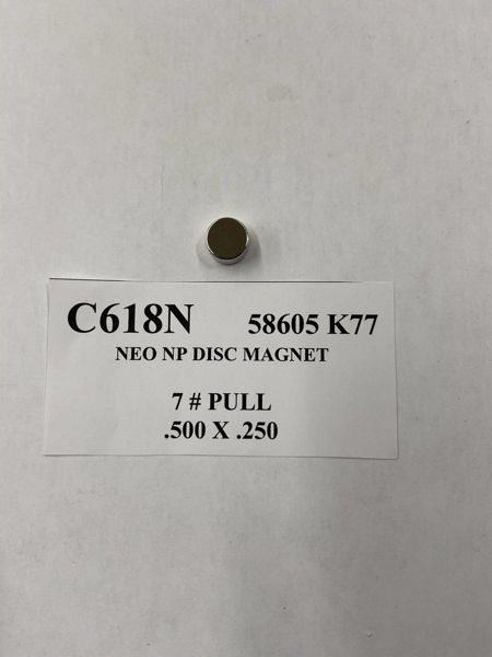 Picture of 58605K77 Nickel Plated Disc C618N