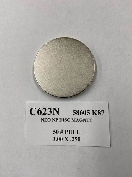 Picture of 58605K87 Nickel Plated Disc C623N