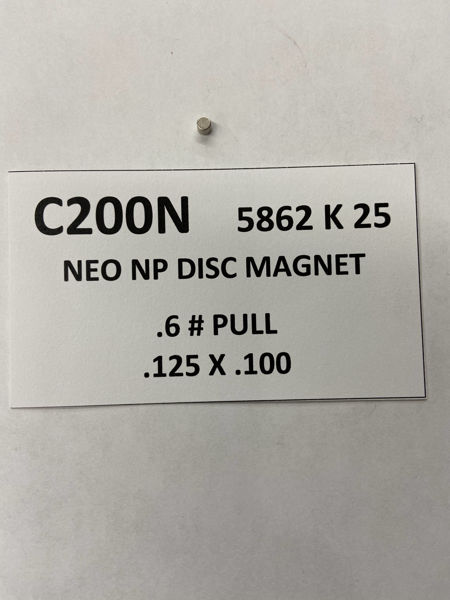 Picture of 5862K25 Nickel Plated Disc C200N