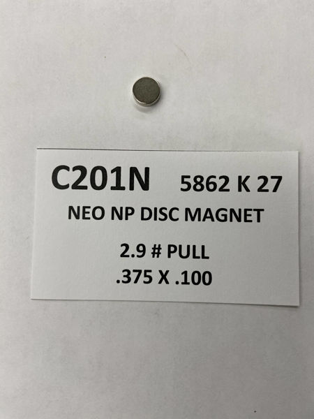 Picture of 5862K27 Nickel Plated Disc C201N