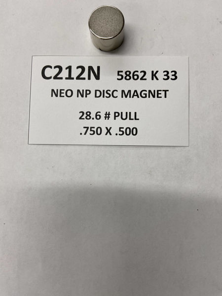 Picture of 5862K33 Nickel Plated Disc C212N