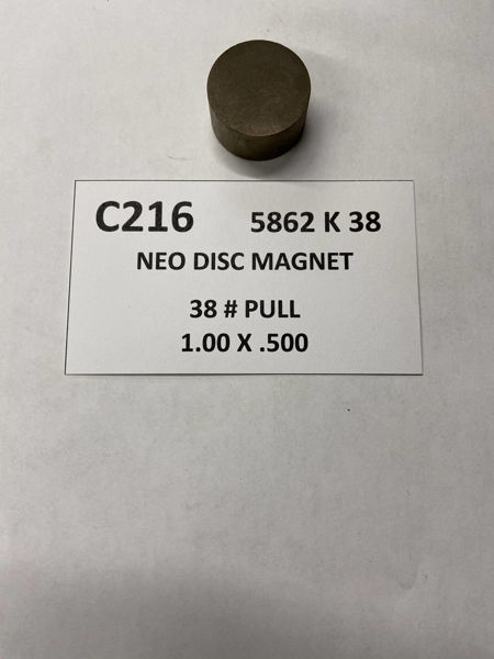 Picture of 5862K38 Unplated Disc C216