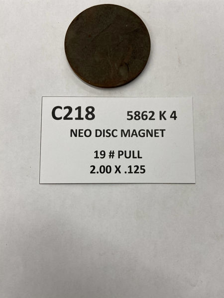 Picture of 5862K4 Unplated Disc C218