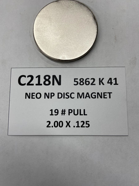 Picture of 5862K41 Nickel Plated Disc C218N