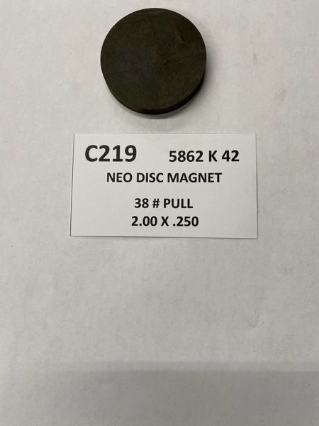 Picture of 5862K42 Unplated Disc C219