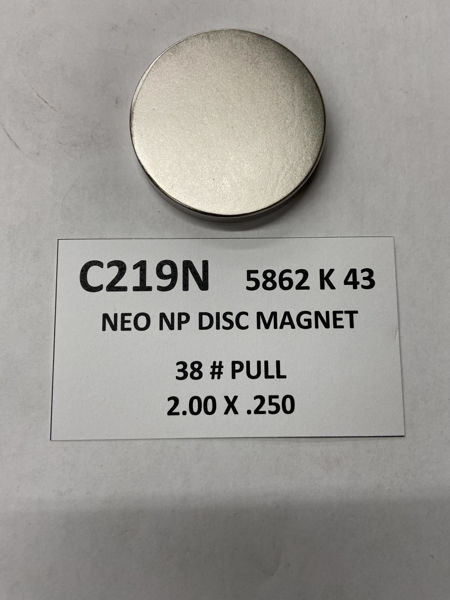 Picture of 5862K43 Nickel Plated Disc C219N