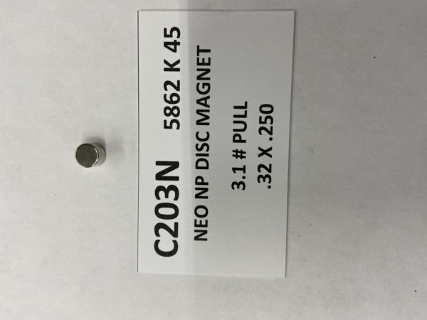 Picture of 5862K45 Plated Disc C203N