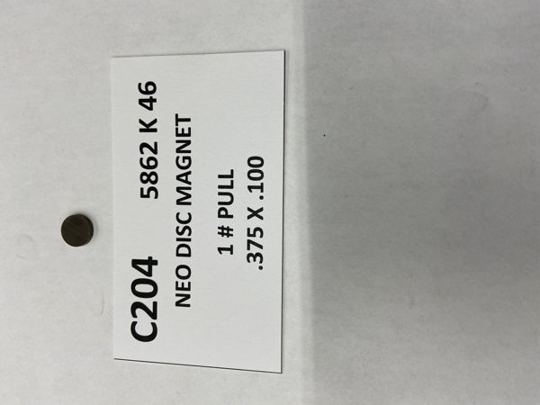 Picture of 5862K46 Unplated Disc C204