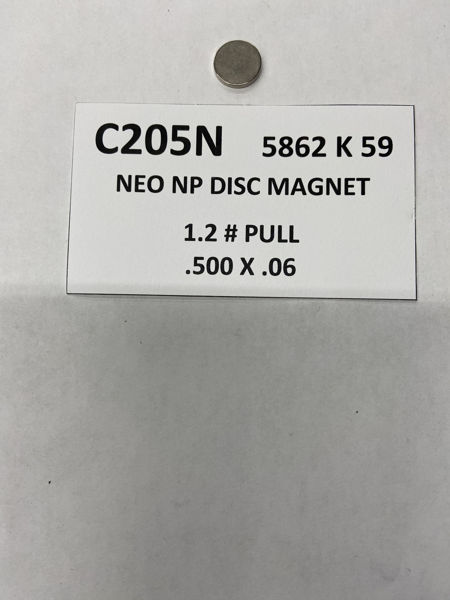 Picture of 5862K59 Plated Disc Nickel C205N