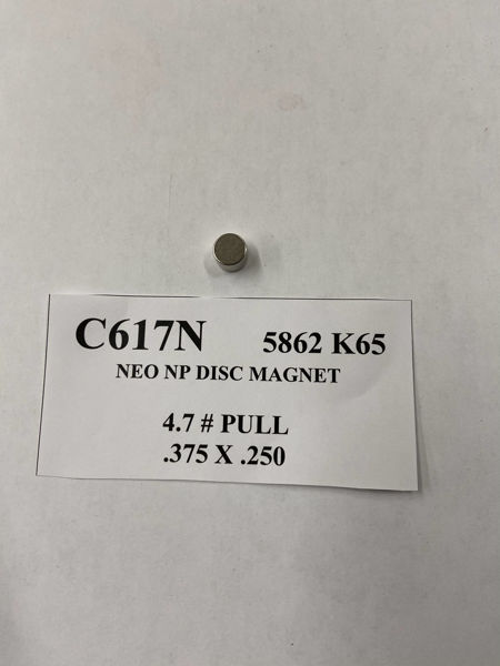 Picture of 5862K65 Plated Disc C617N