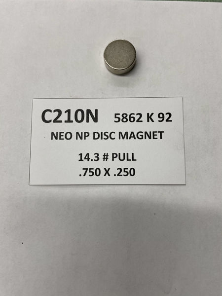 Picture of 5862K92 Nickel Plated Disc C210N