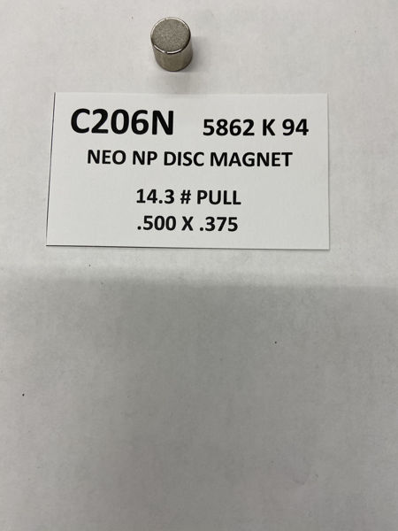 Picture of 5862K94 Plated Disc C206N