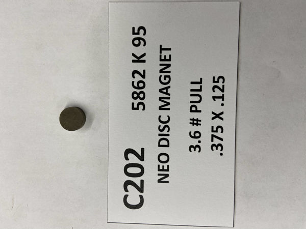 Picture of 5862K95 Unplated Disc C202